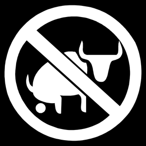 No Bull Crap Funny Adult Humor Car Truck Window Wall Laptop Vinyl Decal Sticker-Fun Fare Decals