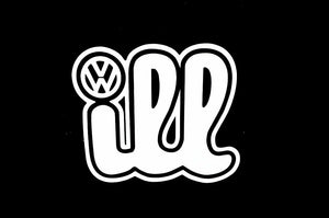 Volkswagen Ill Vinyl Decal-Fun Fare Decals