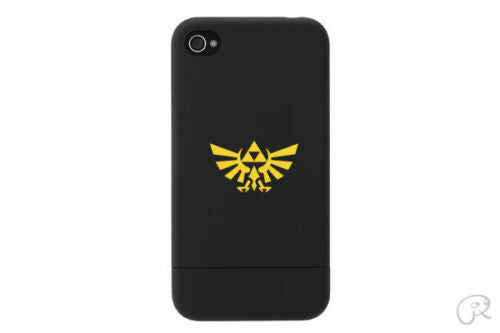 3x Zelda Triforce cell phone decal