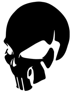 SKULL Punisher Vinyl Decal Sticker Window Wall Car Bumper Laptop iPhone Oracal-Fun Fare Decals