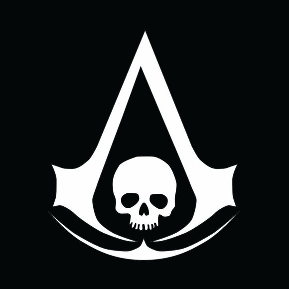 Assassins Creed Black Flag Vinyl Decal