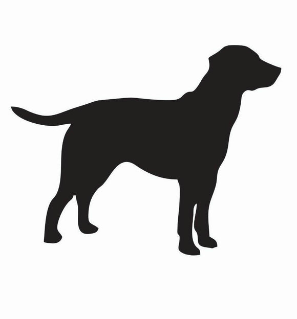 Labrador Retriever Lab Dog Vinyl Decal-Fun Fare Decals