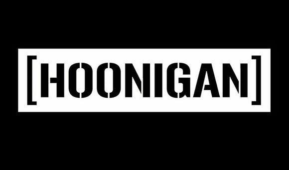 HOONIGAN Window sticker-Fun Fare Decals