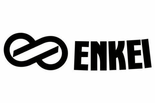 (2x) Enkei Wheel Logo Die cut Vinyl Decal