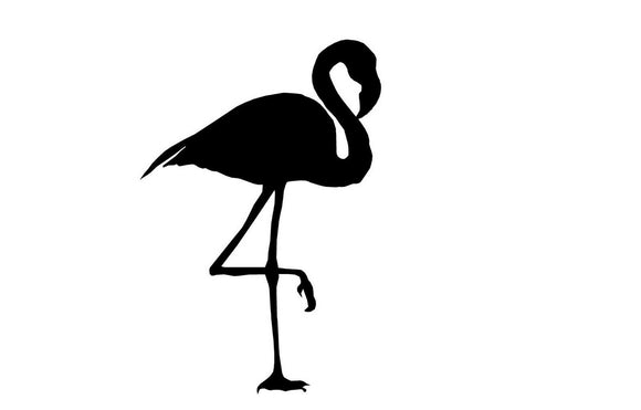 Flamingo Die cut Vinyl Decal