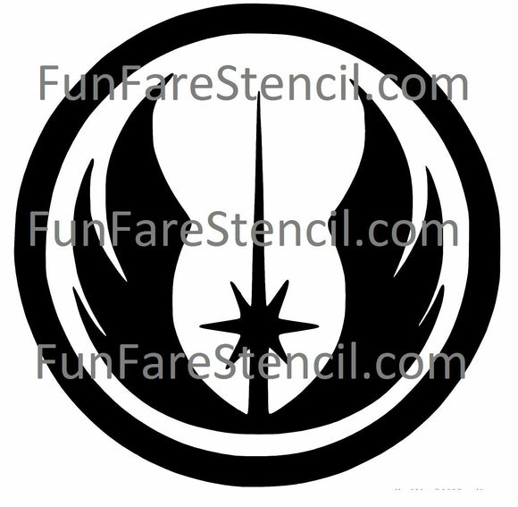 Star Wars Jedi Order Die Cut Vinyl Decal-Fun Fare Decals