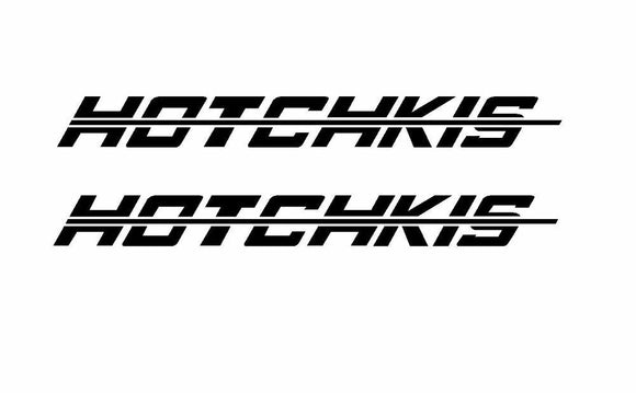 (2x) Hotchkis Die Cut Decal