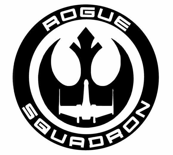 Star Wars Rogue Squadron Sticker Vinyl Decal Oracal-Fun Fare Decals