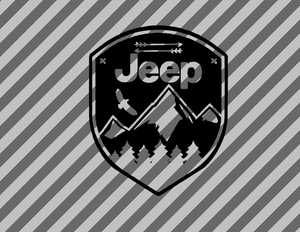 Jeep adventure eagle Vinyl Decal-Fun Fare Decals