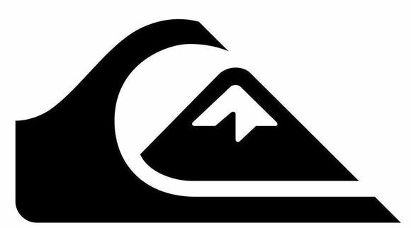 Quiksilver Logo vinyl decal-Fun Fare Decals