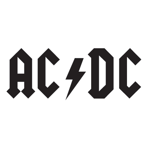 AC/DC Vinyl Decal-Fun Fare Decals