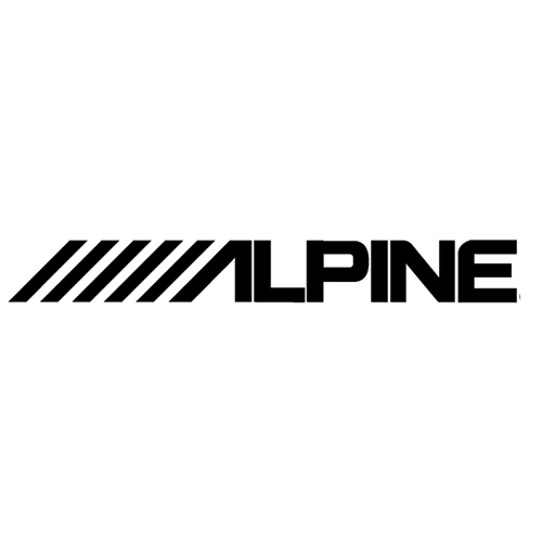 2x Alpine Die Cut Vinyl Decal-Fun Fare Decals