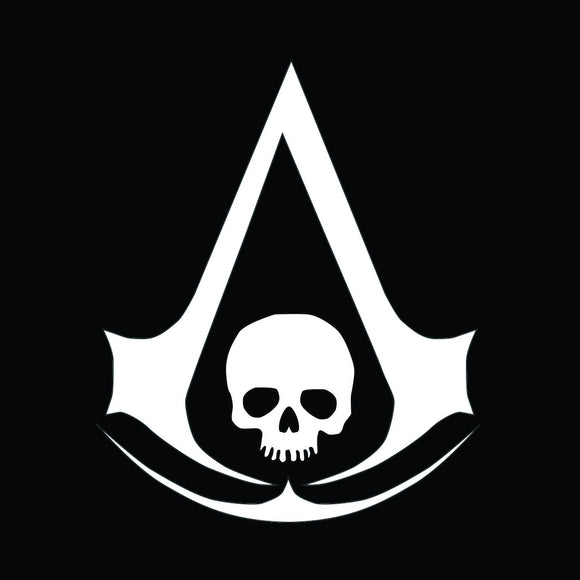 Assassins Creed Black Flag Vinyl Decal-Fun Fare Decals