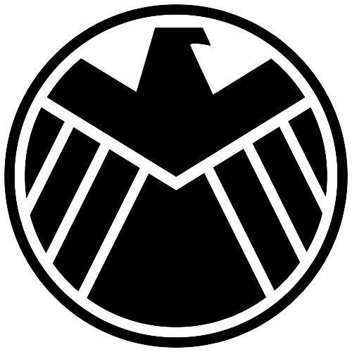 Avengers Marvel Agents of SHIELD Vinyl Decal-Fun Fare Decals