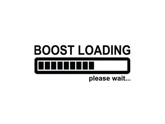 BOOST Loading Vinyl Decal-Fun Fare Decals