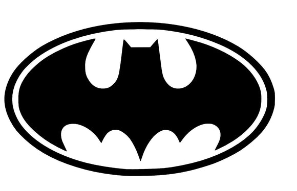 Batman DC Vinyl Decal-Fun Fare Decals
