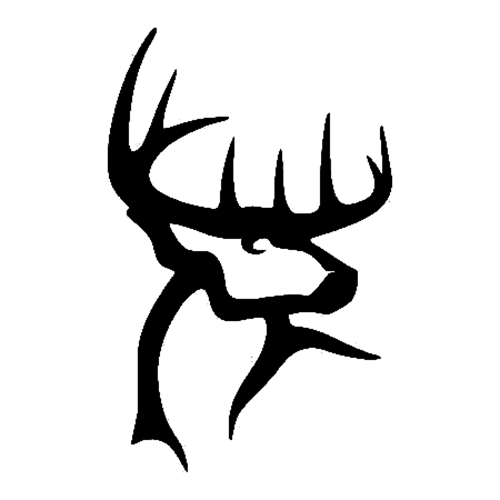 Buck Commander Die Cut Vinyl Decal