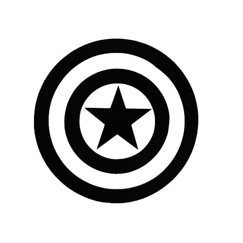 Captain America-Fun Fare Decals