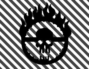 MAD MAX FURY ROAD Logo Vinyl Decal