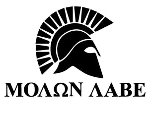 Molon Labe Viking Vinyl Decal