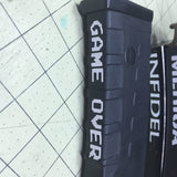 Game Over Decal-Fun Fare Decals