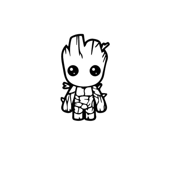 I am Groot Vinyl Decal-Fun Fare Decals
