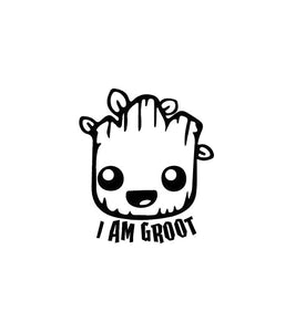 I am Groot V2 Vinyl Decal