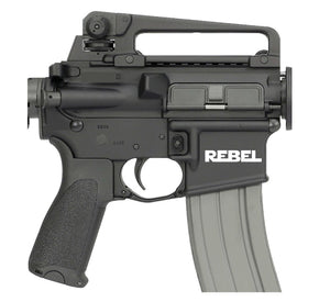 REBEL AR15 Magwell Decal-Fun Fare Decals