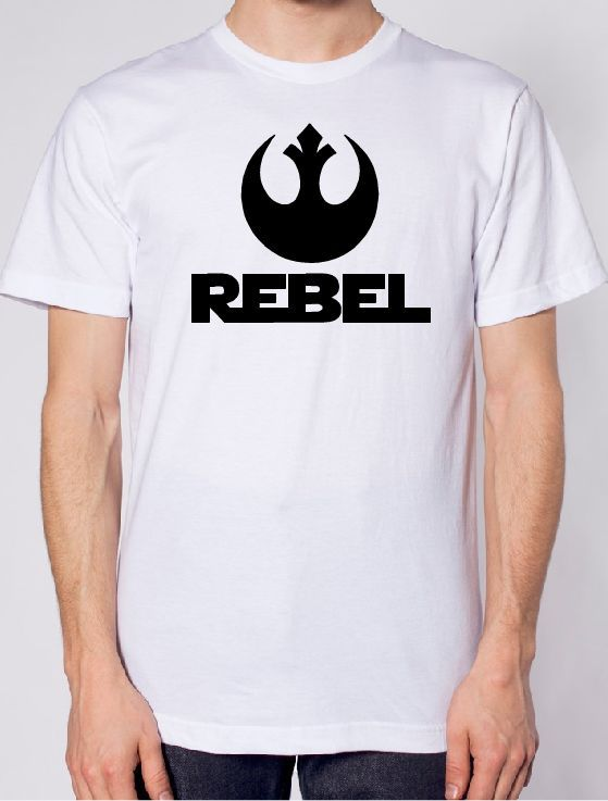 Star Wars Rebel Logo Iron on Vinyl