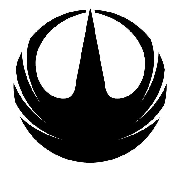 Star Wars Rogue One Rebellion Emblem Vinyl Decal-Fun Fare Decals
