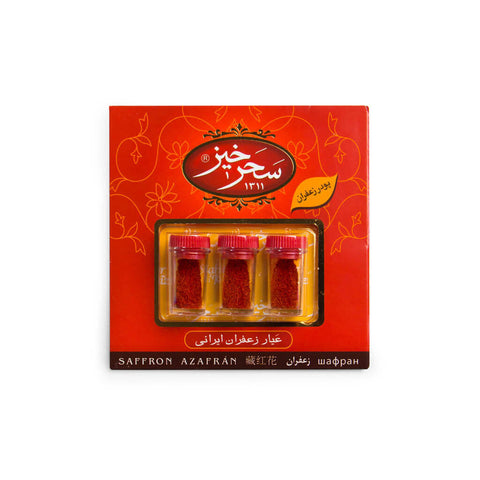 Premium Red Persian Saffron (3 * 0.5 gram Powdered)