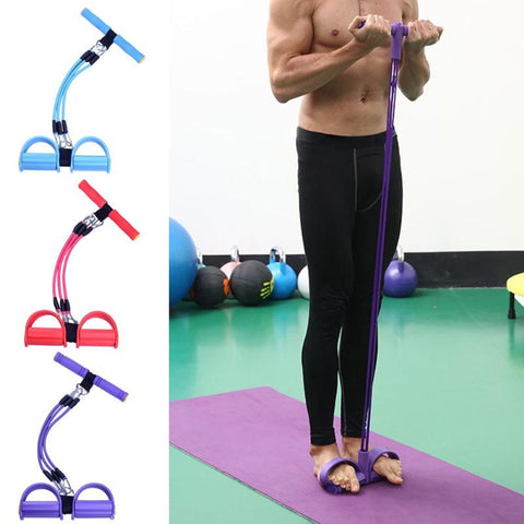 Person - BodySlim™ Multi-function Leg Tummy Resistance Bands Sit-up Pedal
