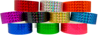 "Adhesive 1"" X 10"" Techno Solid Colour wristbands"