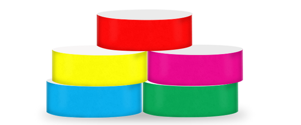 "ECO Galaxy 1"" Solid Colour Wristbands"