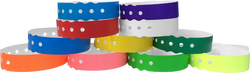 Genesis Biodegradable Straight-Wave Snapped Wristbands