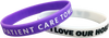 Custom Silicone One Colour Imprint Wristbands