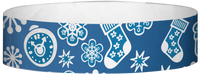 "Tyvek® 3/4"" X 10"" Christmas Decoration wristbands"