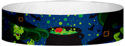"Tyvek® 3/4"" x 10"" Witches pattern wristbands"