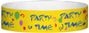 "A Tyvek® 3/4"" X 10"" Party Time Multicoloured wristband"
