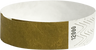 "A Tyvek® 3/4"" solid Gold wristband"