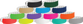 "Vinyl 1"" x 10"" Wide Face Snapped Wristband Solid"