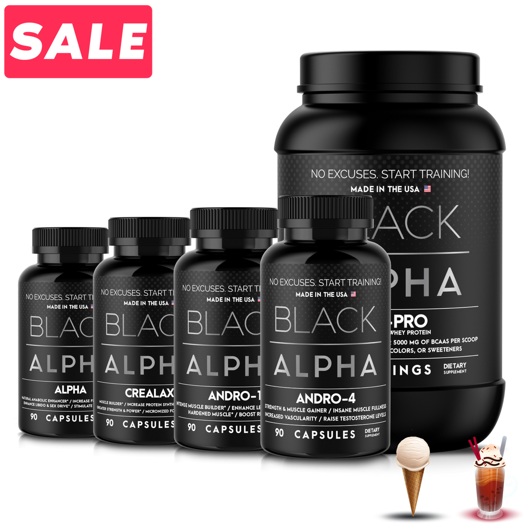 Extreme Mass Stack - Black Alpha Supplements