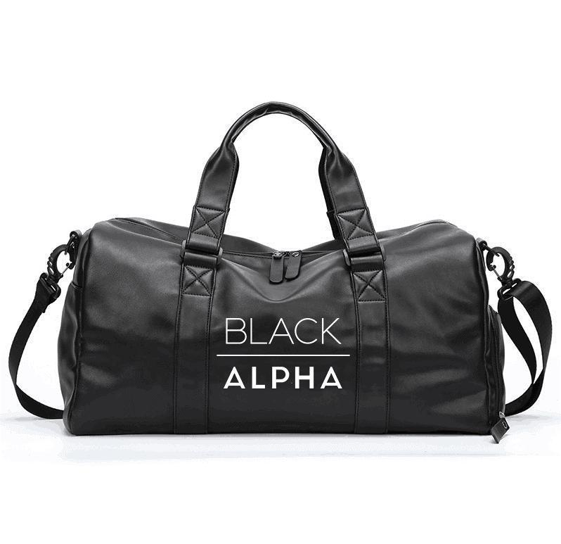 Black Alpha - Gym Bag - Black Alpha Supplements