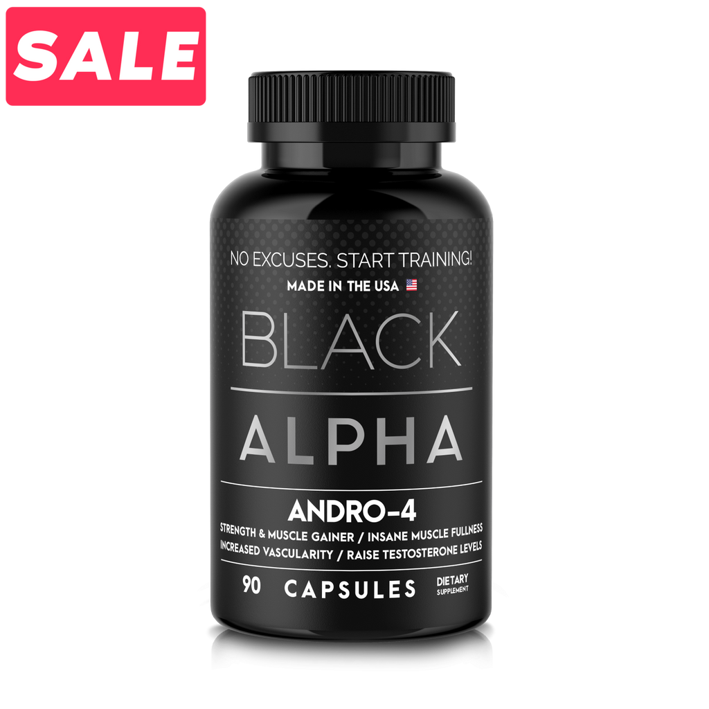 Andro-4 - Black Alpha Supplements