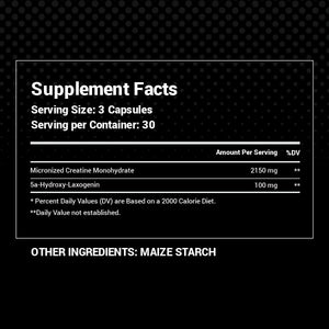 Ultimate Mass Stack - Black Alpha Supplements