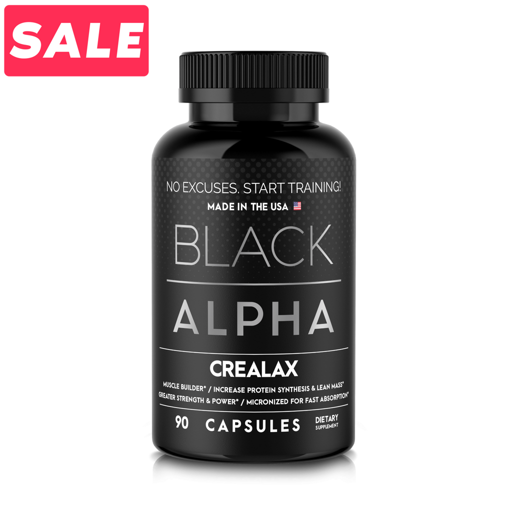 Crealax - Black Alpha Supplements