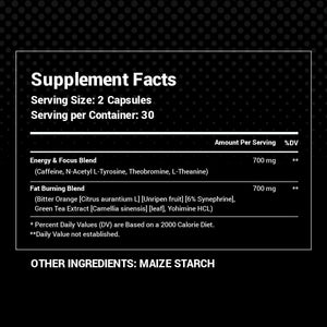 Ultimate Shredder Stack - Black Alpha Supplements