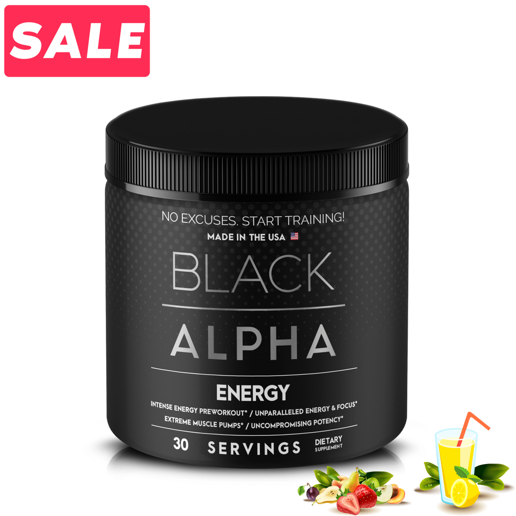 Energy - Black Alpha Supplements