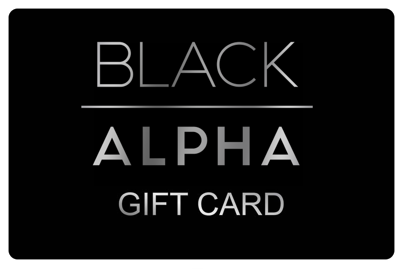 Black Alpha - Gift Card - Black Alpha Supplements