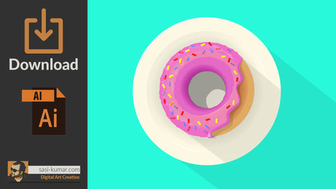 Vector Donut | Digital Download